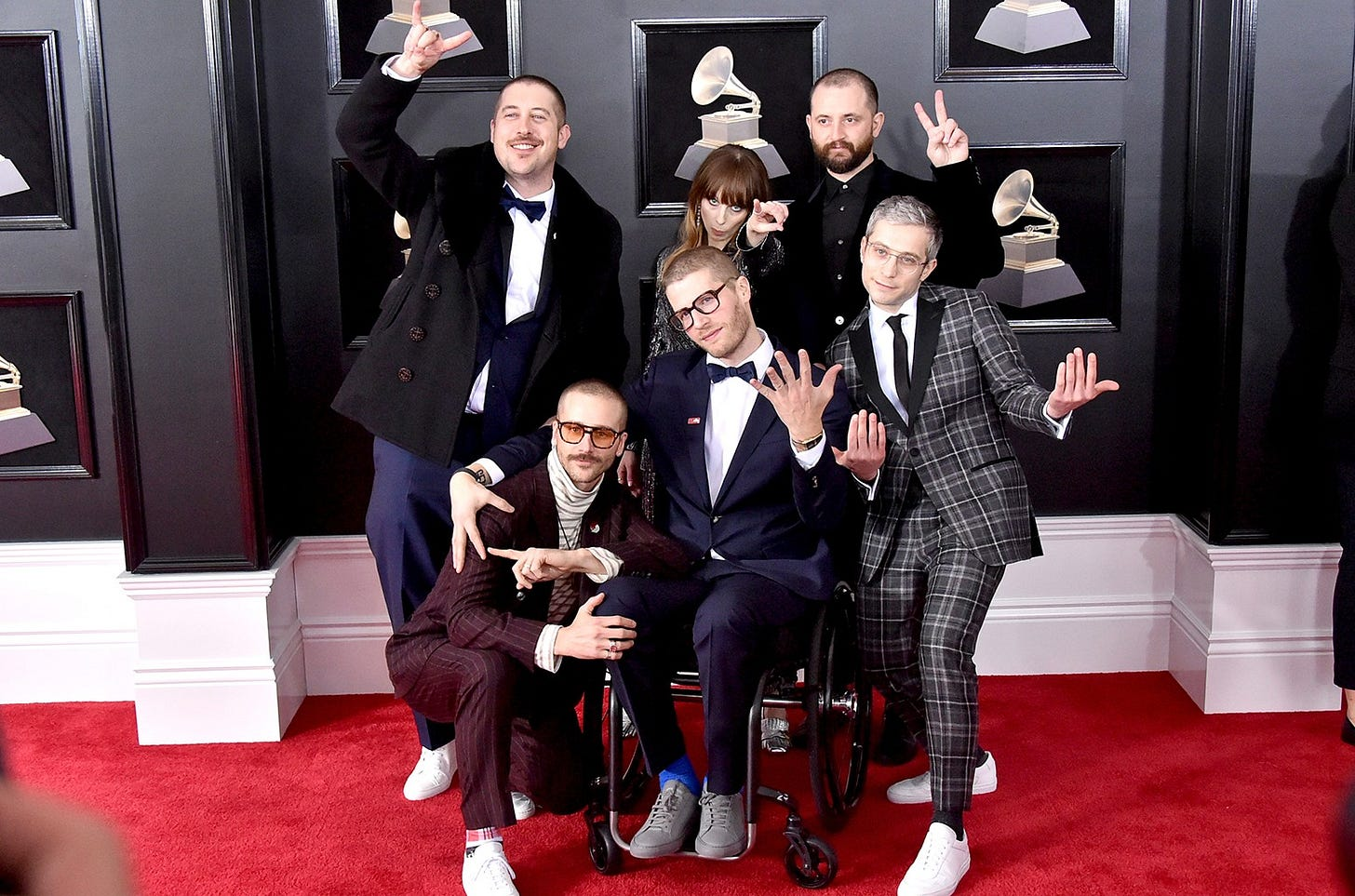 Portugal. The Man Grammys 2018 Interview: 'We're All About Hard Work' |  Billboard | Billboard