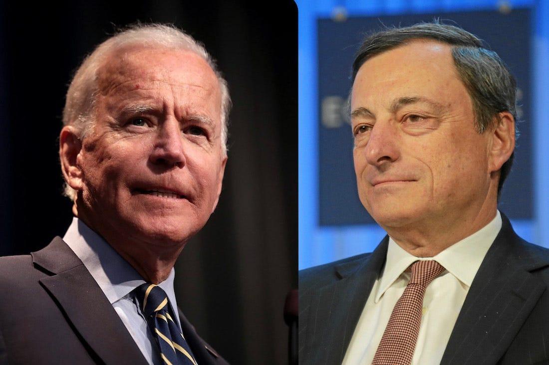 """Primo G7 per Draghi e Biden. Joe: """"L'alleanza transatlantica è tornata"""" –  La Voce di New York"""