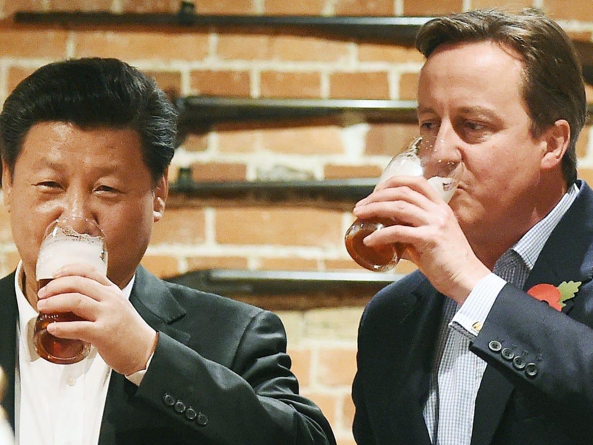Chinese firm buys pub where David Cameron and Xi Jinping enjoyed a pint |  UK news | The Guardian