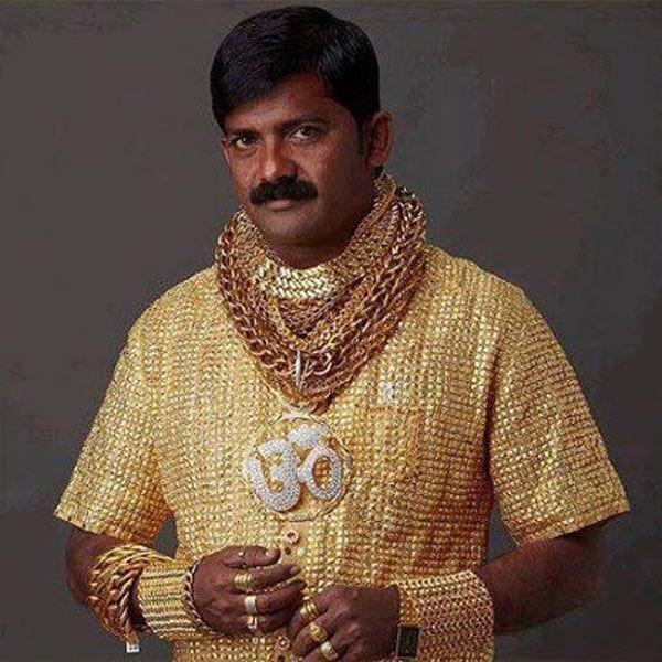 22-karat, 3.25 gram shirt | Gold shirt, Gold, Solid gold