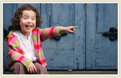 pointing and laughing | Sarah Forshaw's Blog