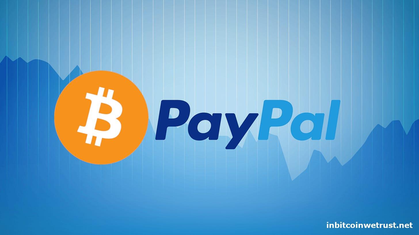 Bitcoin's Adoption: Today PayPal, Tomorrow Amazon? | by Sylvain Saurel | In  Bitcoin We Trust