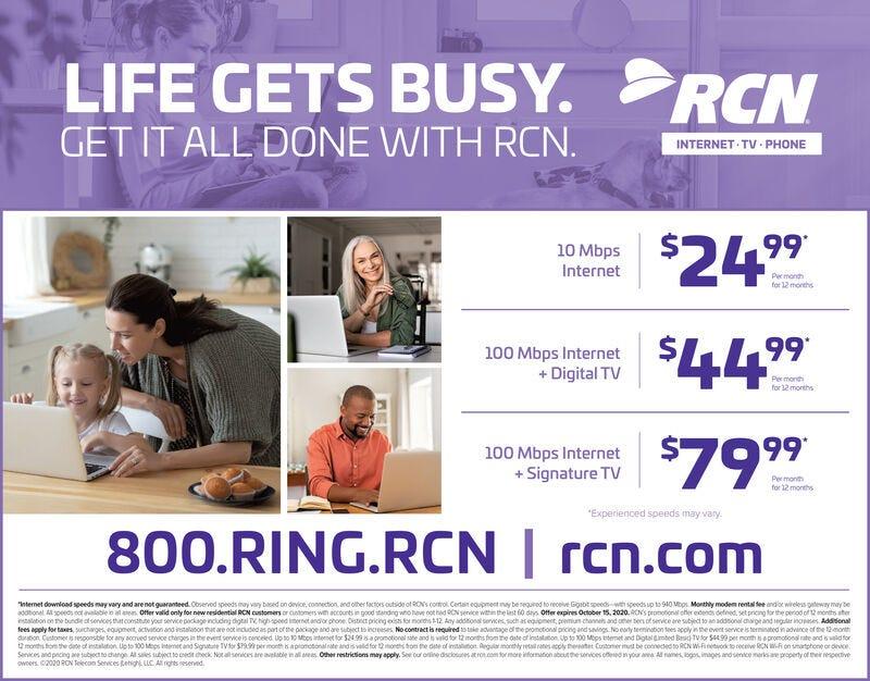 FRIDAY, OCTOBER 2, 2020 Ad - RCN - Morning Call
