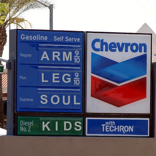 Arm, Leg, Soul, Kids. Price of gas. | I love to laugh, Funny quotes, Make  me laugh