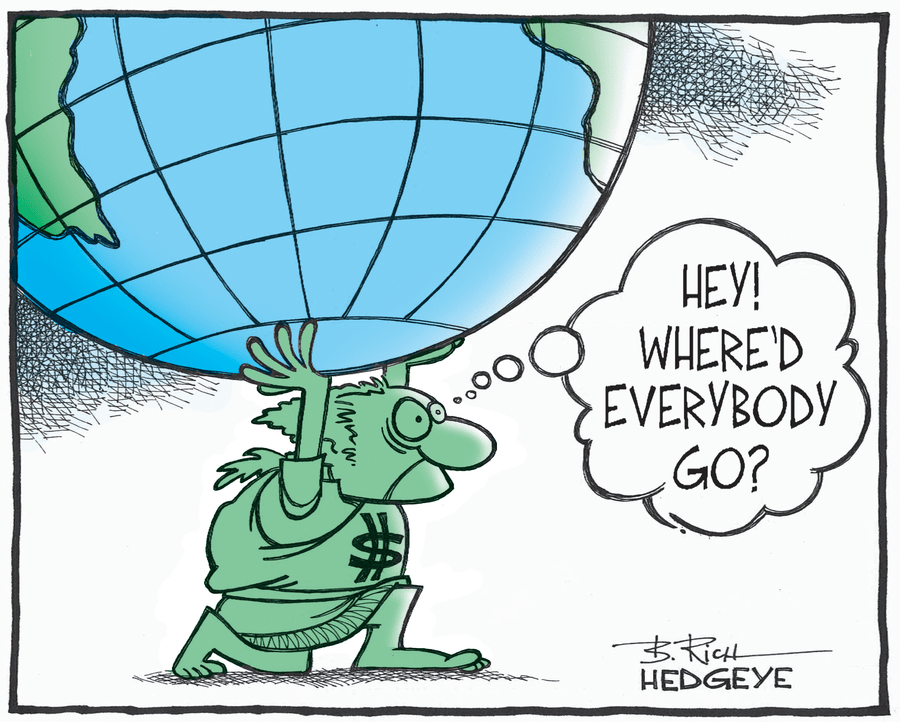 Hedgeye - Cartoon of the Day: Lonely George...