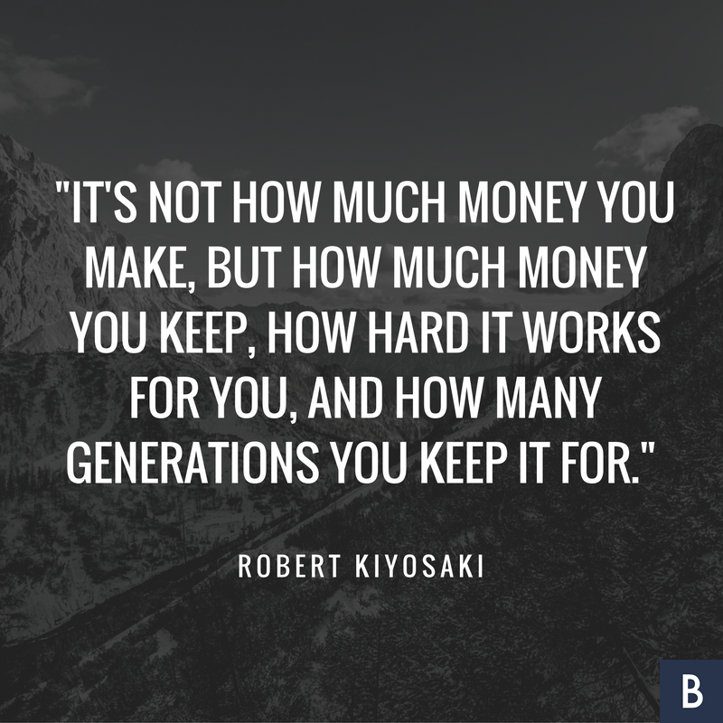 It's not how much money you make, but how much money you keep, how hard it  works for you, and h… | Finance quotes, Inspirational running quotes,  Financial planning