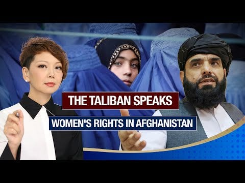 Taliban spokesperson in Qatar on women's rights under Sharia law in  Afghanistan - The Global Herald