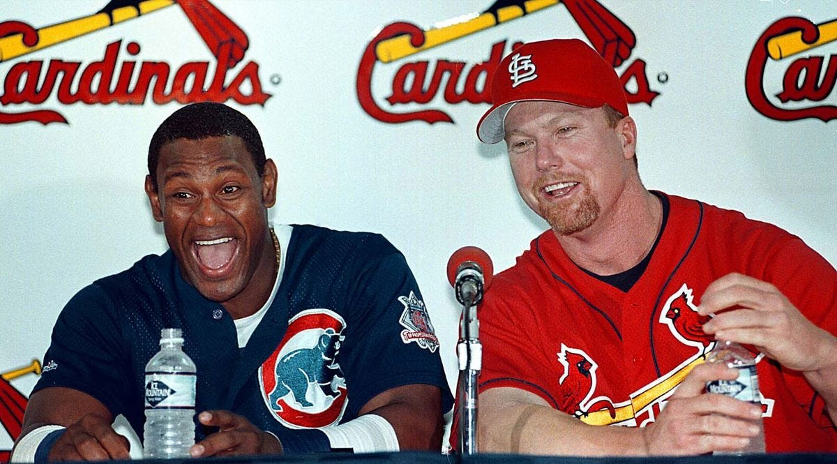 Sammy Sosa-Mark McGwire home run chase? We should have known better -  Chicago Tribune
