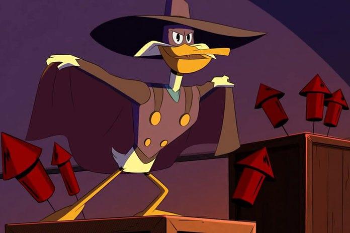 Darkwing Duck Returns In Ducktales