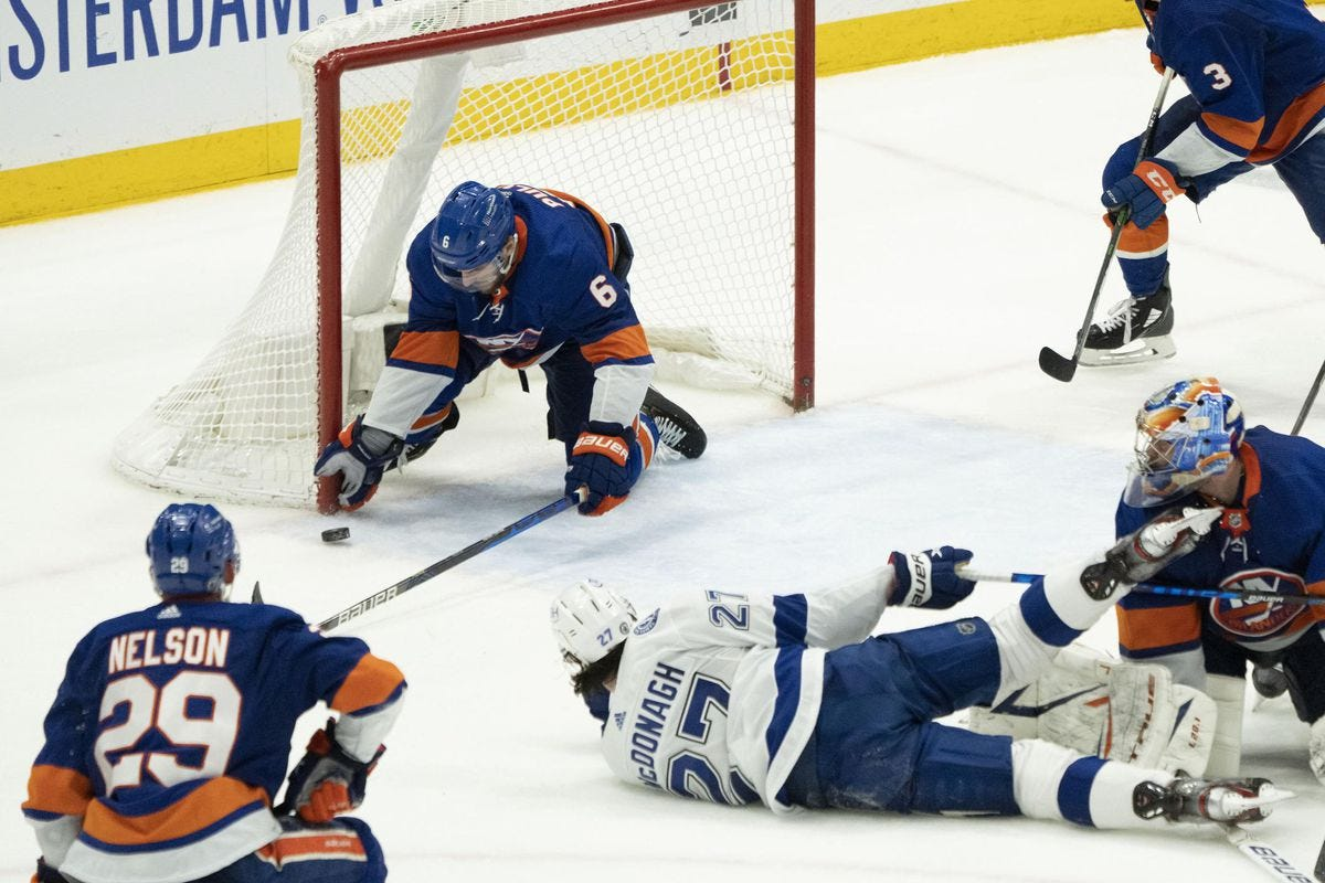 With 'The Save,' Islanders Defenseman Ryan Pulock Authors An All-Time  Iconic New York Sports Moment