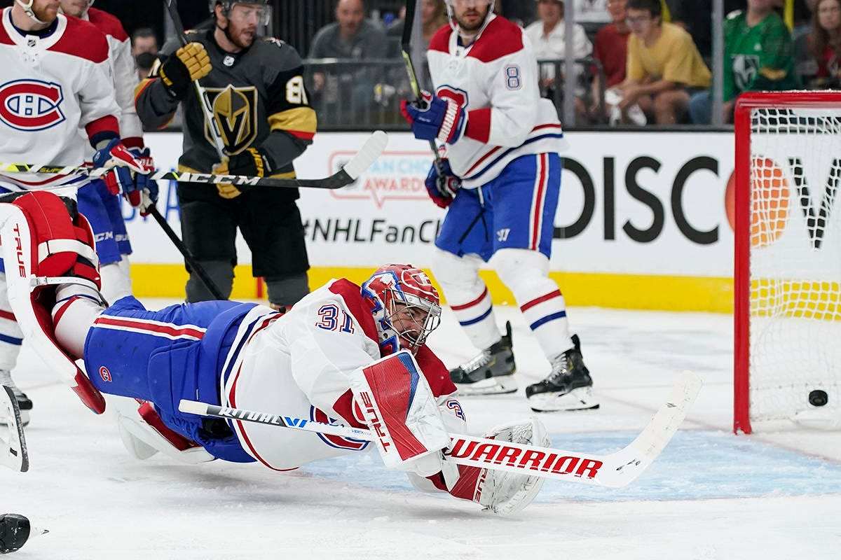 Habs fall 4-1 to Vegas Golden Knights in Game 1 of NHL semifinal series –  Surrey Now-Leader