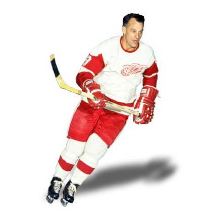 Howe, Gordie -- Biography -- Honoured Player -- Legends of Hockey