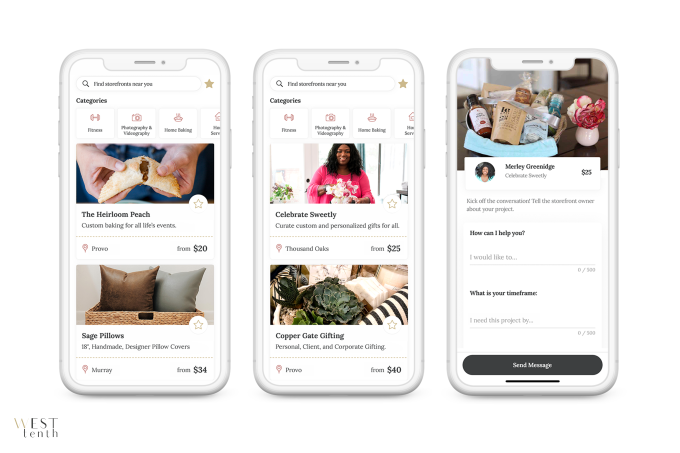 West Tenth's app encourages women to start home businesses, not join MLMs |  TechCrunch