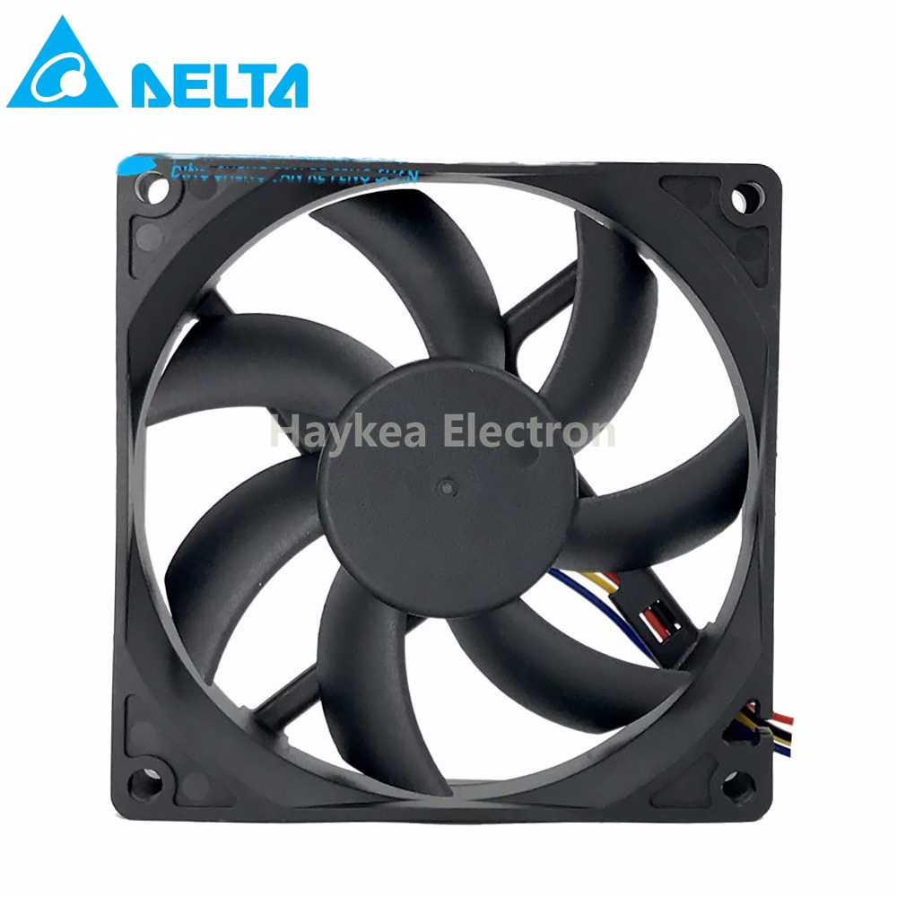 for delta AFB0912HD 92X92X20MM 12V 0.24A (rated 0.14A)  2700RPM 54.60CFM 35.0DBA 2 3 4 wire lead