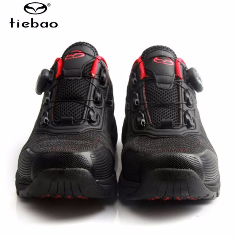 TIEBAO cycling shoes sapatilha ciclismo mtb leisure breathable spd pedals men  self-locking Athletic bicycle mountain bike shoes