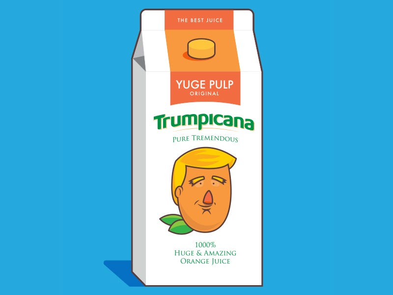 Our Yuge List of Trump-Inspired Designs