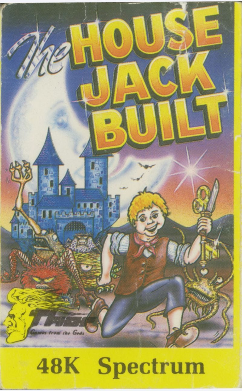 Image result for the house jack built commodore 64