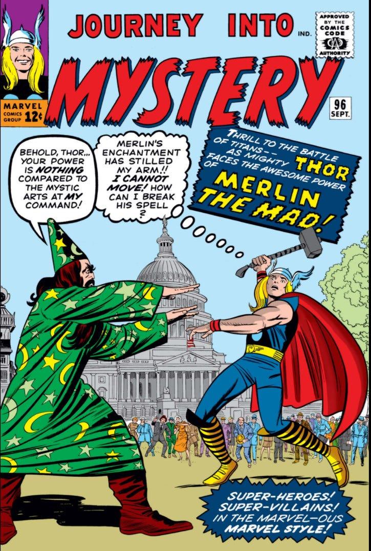 Journey into Mystery Vol 1 96   Marvel Database   Fandom
