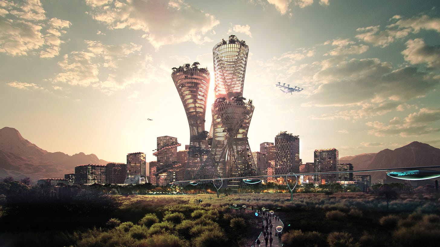 Telosa: Marc Lore and Bjarke Ingels unveil plans for 5-million-person city  in the American desert - CNN Style