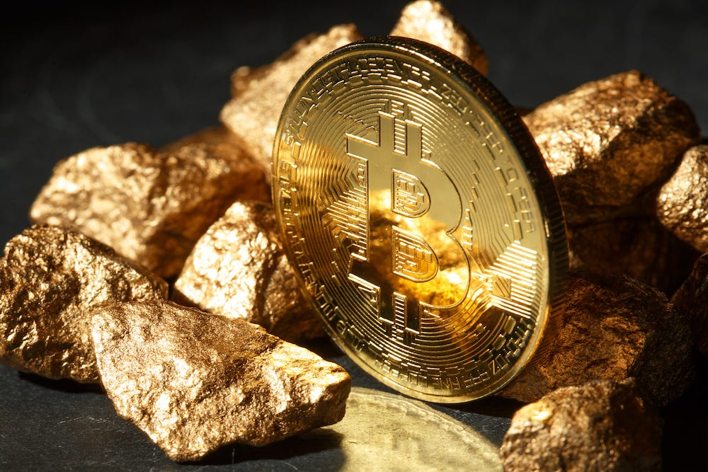 Image result for bitcoin over gold