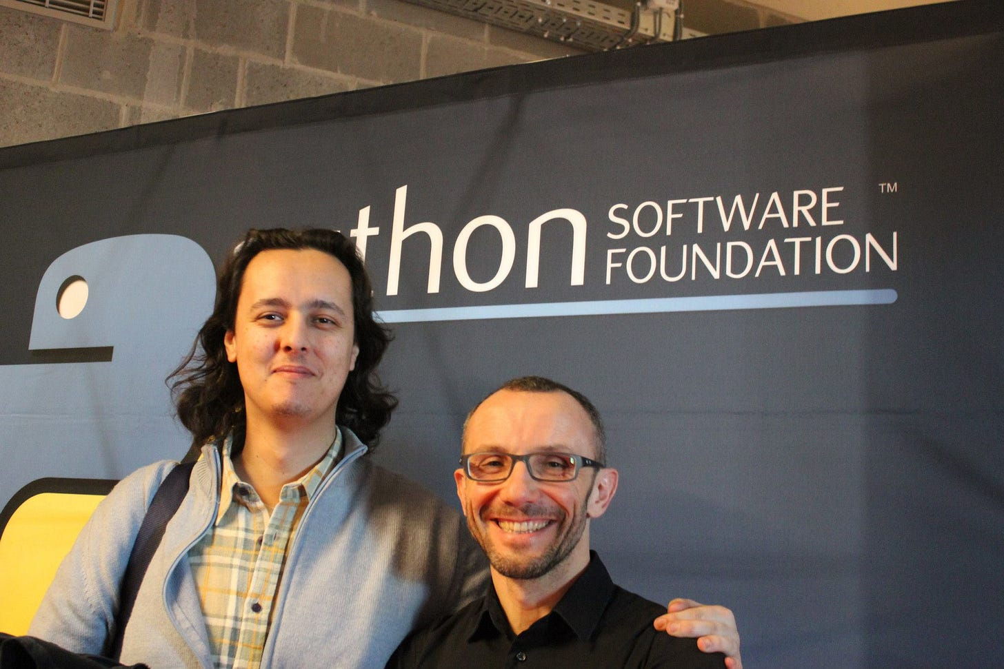 With Alessandrio at FOSDEM 2014
