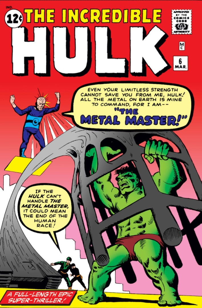 Incredible Hulk Vol 1 6   Marvel Database   Fandom