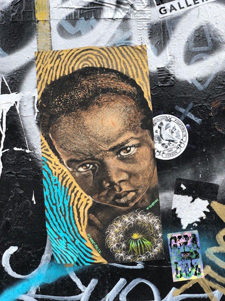 NYC mural - Stan Berteloot