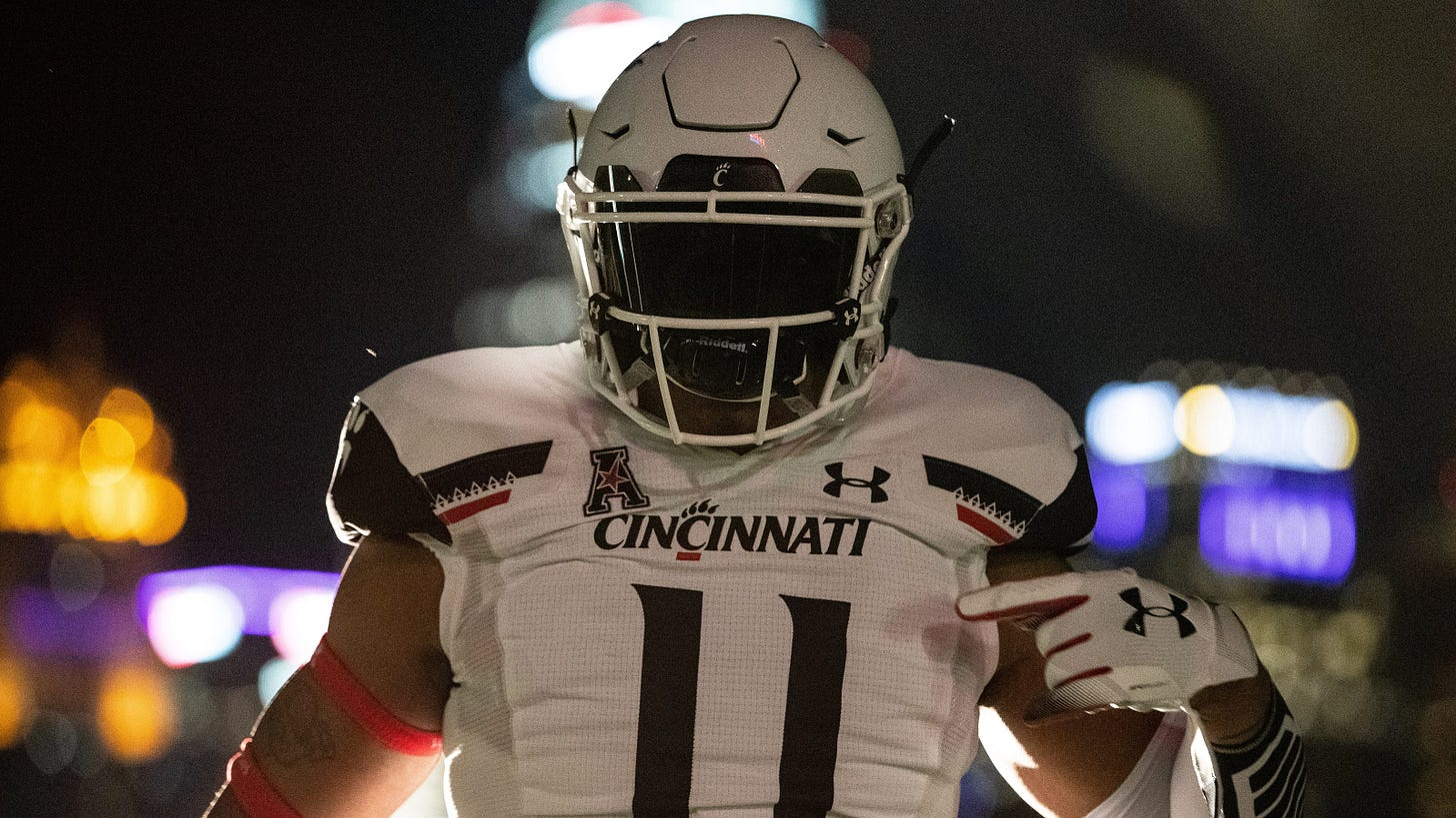 University of Cincinnati Bearcats athletics, Under Armor split