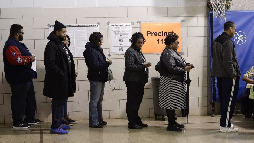Black millennials who don't vote are falling for political fraud ...