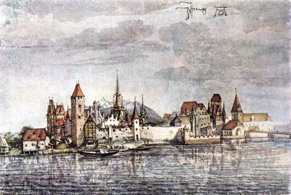 File:Albrecht Dürer - View of Innsbruck - WGA7356.jpg - Wikimedia Commons