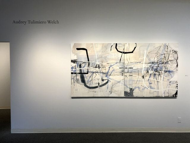 Exhibit of work by Audrey Tulimiero Welch