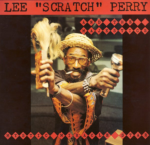 """Lee """"Scratch"""" Perry And The Majestics – Mystic Miracle Star (1982, Vinyl) -  Discogs"""