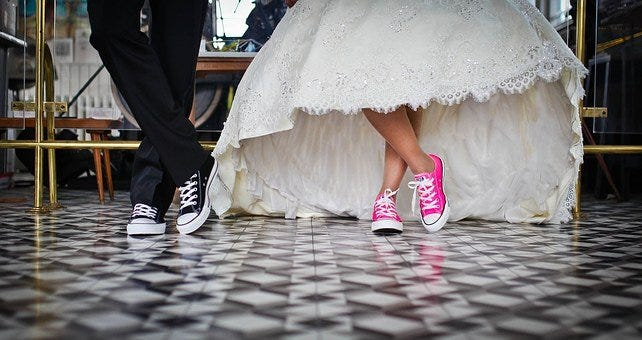 Marriage, Bridal, Wedding, Shoes