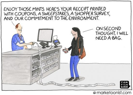 Marketing at the Point of Sale cartoon | Marketoonist ...