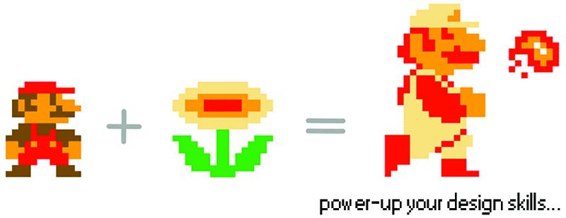 Mario Bros Fire Flower