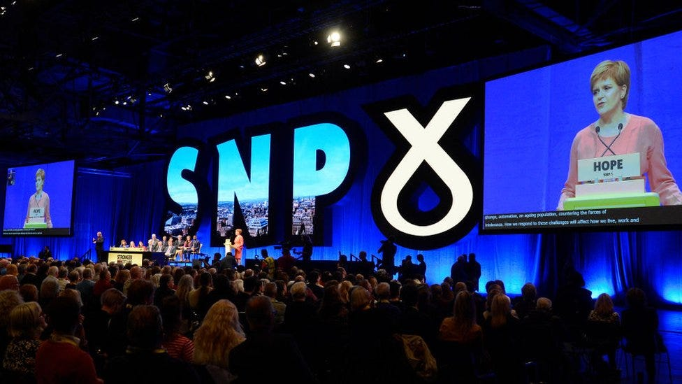SNP conference: Three questions facing the party - BBC News