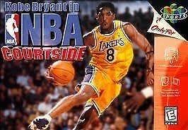 Kobe Bryant in NBA Courtside (Nintendo 64, 1998) for sale online ...