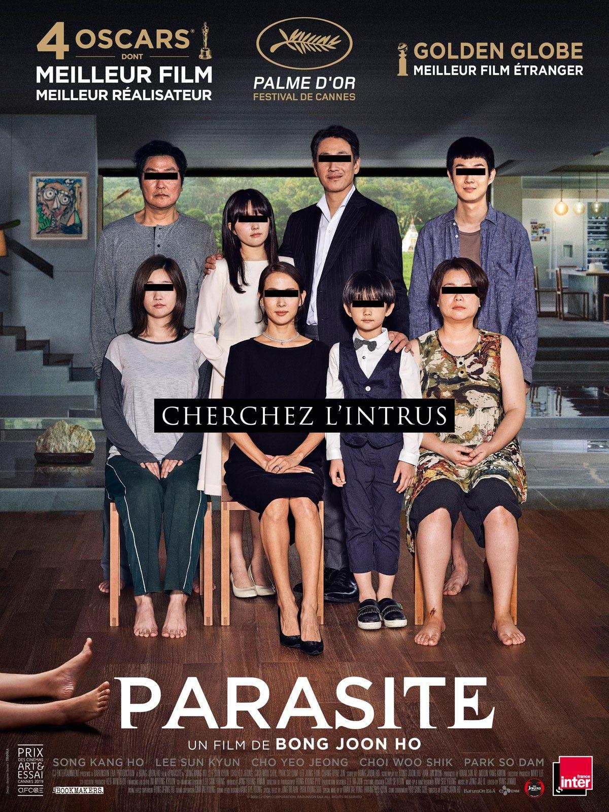 Achat Parasite en DVD - AlloCiné