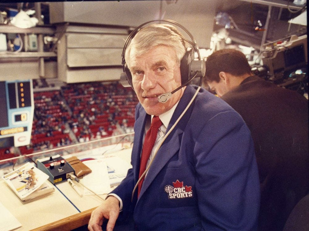 Dick Irvin Jr. brought colour to Hockey Night in Canada | Regina Leader Post