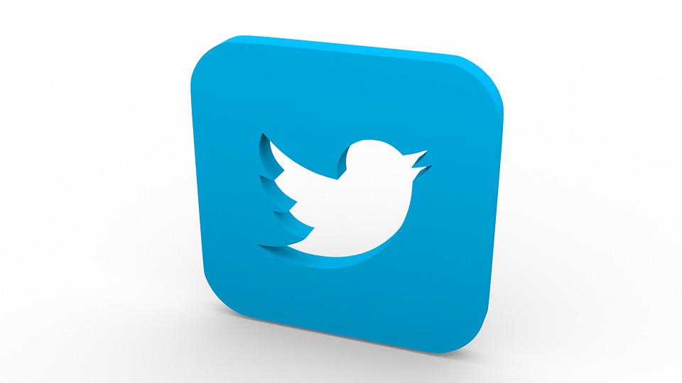 Twitter, Social Networks, I Like It, Like, Logo, 3D