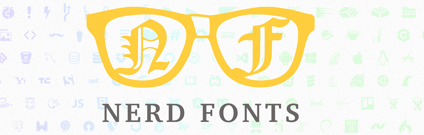 Nerd font example