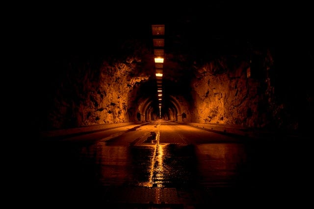 Tunnel in Yosemite National Park, United States