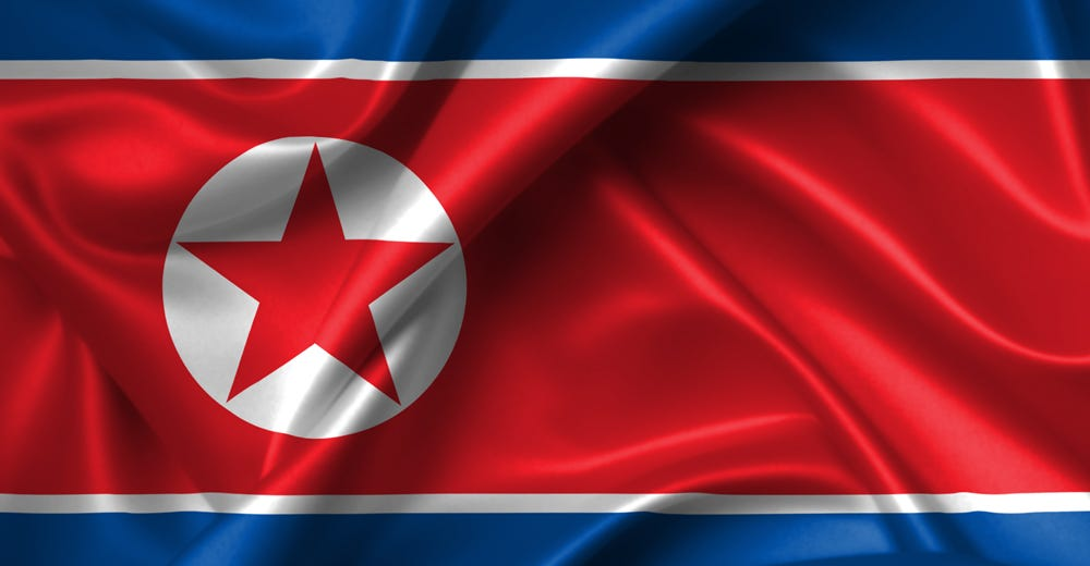 Image result for north korea flag