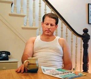 Al Gore looking sad