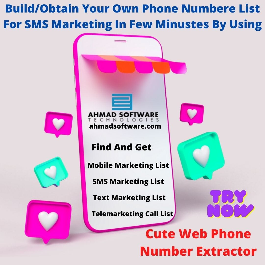 Build Your Own Phone Number List For SMS Marketing In Minutes