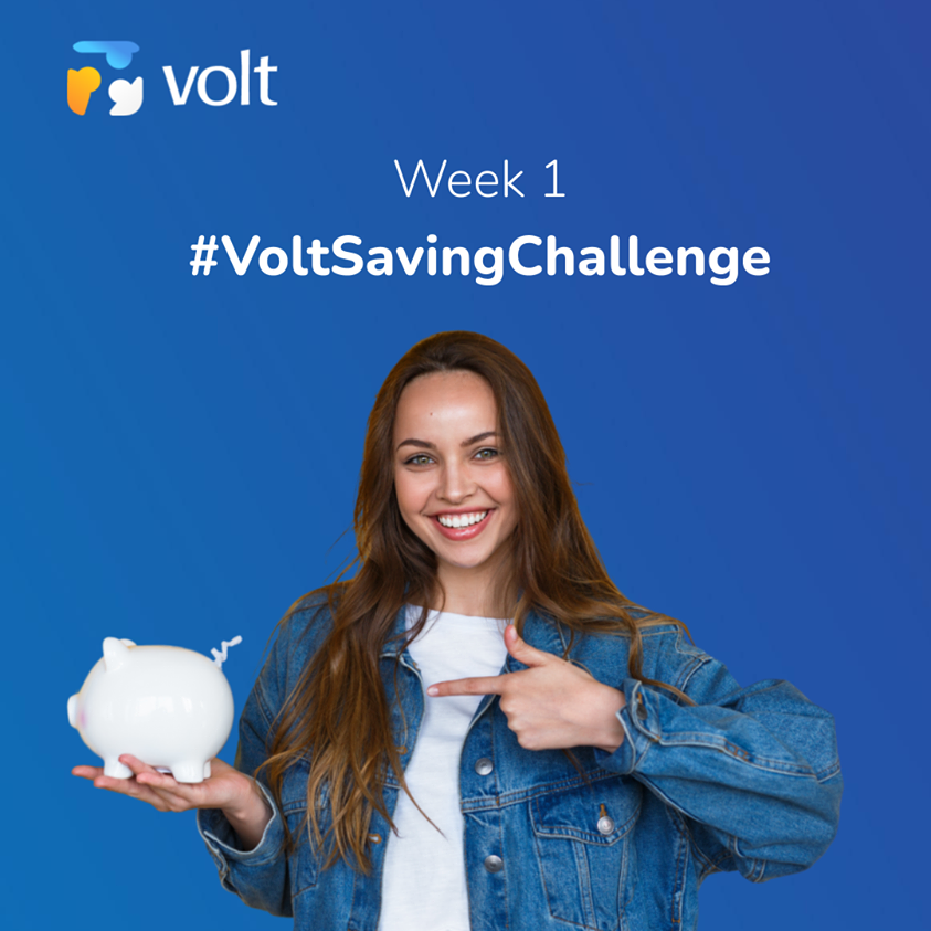 Here's a good way to save more in 2021: accept the #VoltSavingChallenge