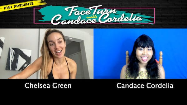 Chelsea Green & Candace Cordelia for PWI presents ... FaceTurn