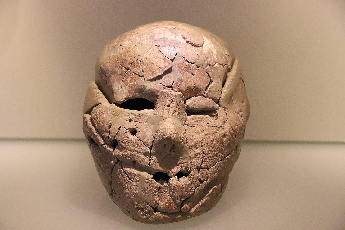 Plastered Skull, c. 9000 BC.jpg