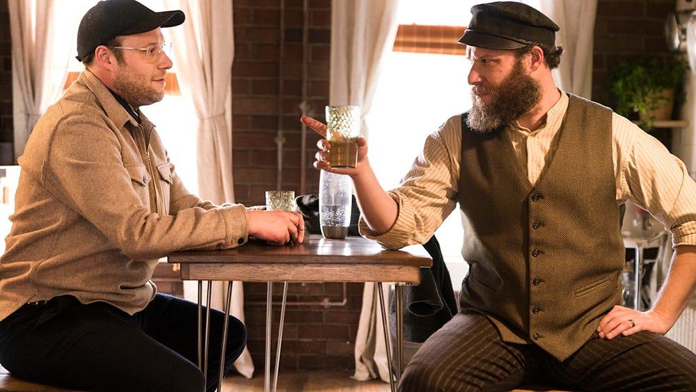 An American Pickle' Review: Seth Rogen as Rip Van Winkle Meets ...
