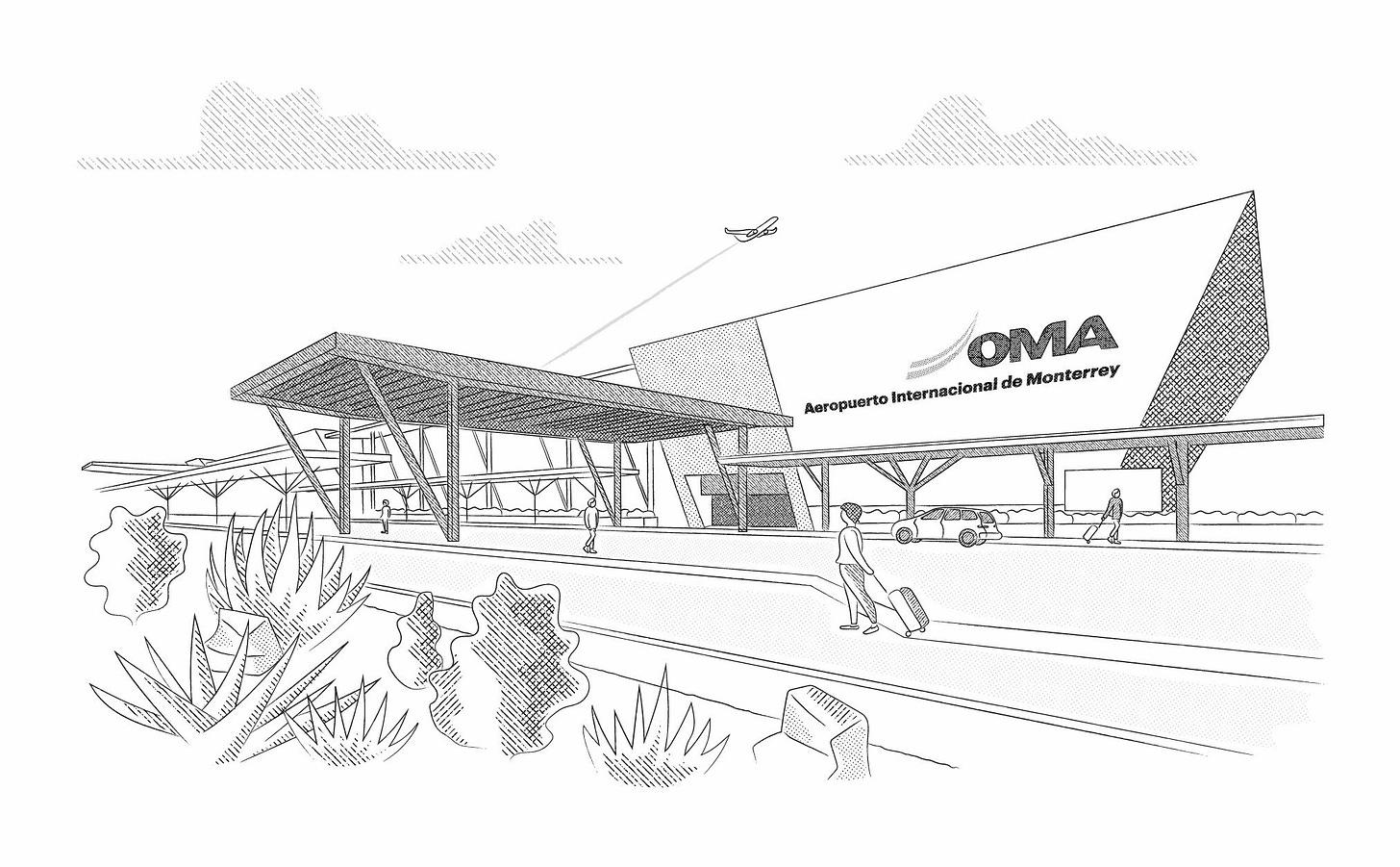 ¿Puede Monterrey aprovechar el problema de aeropuertos en CDMX?